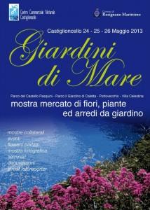 Fiori veri e non solo... dal 24 al 26 maggio ai Giardini di mare arrivano anche i fiori del riciclo!